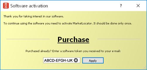 MarketLocator Help :: MarketLocator - conditional market